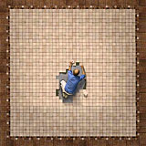 Boxed-in tile setter